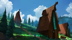 Tim Kaminski is a concept artist and illustrator who has worked for companies like Ready at Dawn and Runic Games.