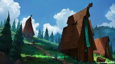 ArtStation - Vikings, Tim Kaminski