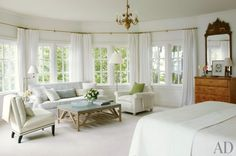 I'm dreaming of a white {living room} | Laurel Bern Interiors | interior design by Victoria Hagan