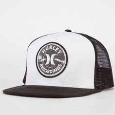 275ab6af HURLEY Recordings Mens Trucker Hat. Want to make your custom trucker hats?  Contact us