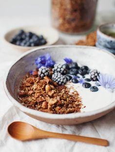 Maple Cinnamon Grain-free GranolaReally nice recipes. Every  Mein Blog: Alles rund um Genuss & Geschmack  Kochen Backen Braten Vorspeisen Mains & Desserts!
