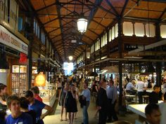 The Mercado de San Miguel isn't actually a tapas bar, it's a market. But it's one of the most popular spots for tapas in Madrid. Spain Holidays, Tapas Bar, World Cities, Spain And Portugal, Like A Local, Best Places To Eat, Seville, Spain Travel, Rome