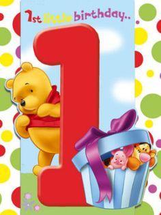 cumple de 1 añito de winnie the pooh!