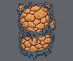 A Fantastic Four The Thing t-shirt that's perfect to wear as a costume.