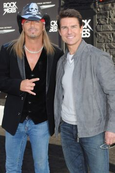 2012 Rock of Ages Premiere - Brett Michaels and Tom Cruise