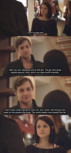 """#FindingCarter 2x04 """"Pretty When You Cry"""" - Carter and Crash"""