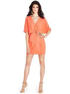 GUESS by Marciano Women's Monica Tunic Dress, ORANGE SILK (XS) GUESS by Marciano http://www.amazon.com/dp/B00N0H5GGI/ref=cm_sw_r_pi_dp_VYHBub03XZQGE
