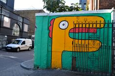 London StreetART, foto Jurgen Meerschaert & Davinia Braeye