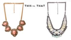 Time to play favorites! Which would you rather rock? #Accessories #Necklace