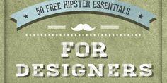 50 Free Hipster Essentials For Designers | Pencil Scoop | Design & Creative Blog