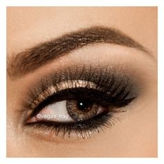 .@vegas_nay | Soft Smokey Holiday lk (for all eye colors) using the... ❤ liked on Polyvore