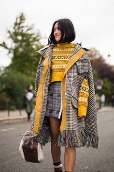NYLON · PFW Street Style Day 7: It's All About The Outerwear