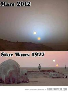 Not in a galaxy so far away after all…