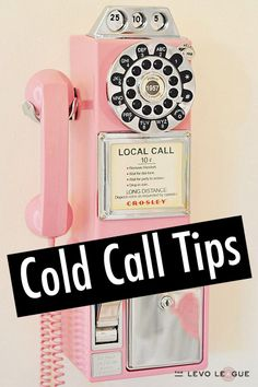 Tips for Cold-Calling from Marcy Twete