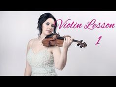 How to play the violin, easy violin lessons and tutorials for beginners. - Lesson 1: How to hold the violin & bow