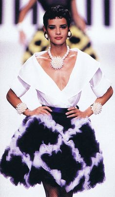 Nadege for Valentino, s/s 1992