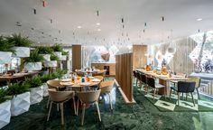 estudihac cheese bar barcelona hotel melia sarria designboom