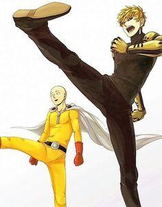 Tags: Anime, Pixiv Id One Punch-Man, Saitama y Genos, Cyborg, Fight Stance One Punch Man Memes, One Punch Man Funny, One Punch Man Anime, Anime Boys, Tv Anime, Fanarts Anime, Anime Stuff, One Punch Man Wallpapers, Genos X Saitama