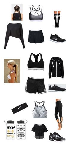 """""""Workout in Style"""" by mlecours on Polyvore featuring Crea Concept, NIKE, Boohoo, Calvin Klein, The North Face, Sisters Point, Athletic Propulsion Labs, Puma and prAna"""