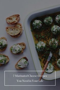 7 Marinated Cheese Recipes You Need in Your Life via @PureWow