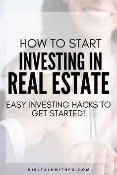 New to real estate investing? Don't know where to start? This post will give your some pro hacks for buying your first rental property and how to make passive income! #passiveincome #investing #realestateinvesting #moneytips