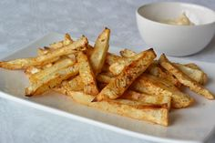 Healthy fries recipe. Easy to make and a good substitute for the unhealthy version! #Fitgirlcode