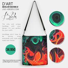 Blobs...  #abstract #artistic #painting #blobs #shapes #organic #psychedelic #hippie #cool #retro #sixties #fashion #fashionbag #fashionhandbag #handbag #womanhandbag #liveheroes #digitalartcreations