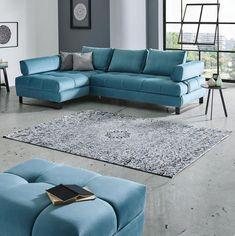 šířka/délka: 120/180 cm motiv/dekor/design: květinové barva: antracitová Couch, Furniture, Design, Home Decor, Settee, Decoration Home, Sofa, Room Decor