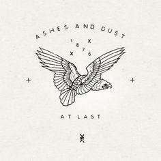 """""""Ashes and Dust"""" Logo by Nemanja Bogdanov"""