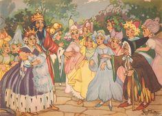 Faeries and Little Folk: Peg Maltby's Fairy Folk Thomas Hood, Vintage Fairies, Land Of Enchantment, Midsummer Nights Dream, Flower Fairies, Fairy Art, Maleficent, Faeries, Fantasy Art
