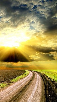 All dirt roads take you to Heaven,