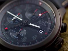 Photo of the Bremont B2 Military only Squadron watch