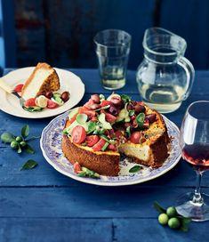 Kreikkalainen salaattipiiras | Kasvis, Juhli ja nauti, Suolainen leivonta | Soppa365