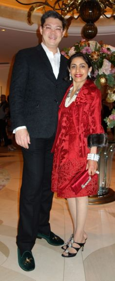 with my SWEETIE Christophe at a Holiday Gala at the Beverly Hills Hotel