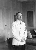 Hitler's white uniform, only worn for a few brief months in 1939.