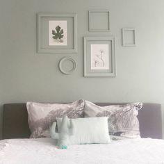slaapkamer in de kleur early dew
