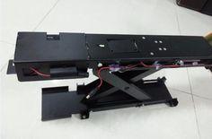 3 pcs remote control + 1 pcs mobil parkir kunci dapat naik tinggi 305mm/remote control otomatis baterai parkir pos bollard barrier