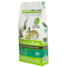 Back 2 Nature Small Animal Bedding and Litter 30 Litre from Pets At Home