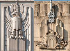 Viajante Seguir  Art Deco Eagles   Austin, Texas