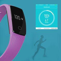 Hot Bluetooth Smartwatch Pulse Heart Rate Monitor Cardiac Smart Bracelet Smartband #Affiliate Bluetooth, Wearable Device, Smart Bracelet, Heart Rate Monitor, Portable, Smartwatch, Hot, Smart Watch