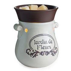 Candle Warmers Etc. Illumination Fragrance Warmer RWFGA, French Garden