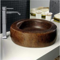 Crushed Granite Sink : ... Mica basin uses crushed Mica stone to create a sparkling masterpiece