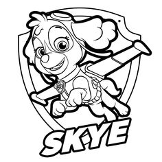 paw patrol coloring pages | movies and tv coloring pages | paw patrol coloring pages, paw patrol
