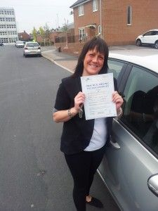 Congratulations to Karen - http://ultimatedriving.co.uk/congratulations-karen/
