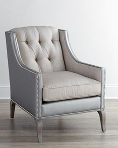 "Family Room Accent Chair: Brienna Chair at Horchow. 36.5""W x 29.5""D x 39""T. - $1,629.00"