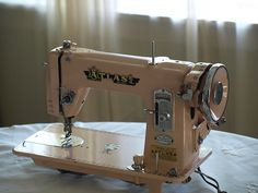 I love my Pink Atlas sewing machine! Sews like a charm!!!!