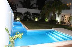 Casa habitacion en en Cozumel Quintana Roo : Piscinas minimalistas de A2 HOMES SA DE CV