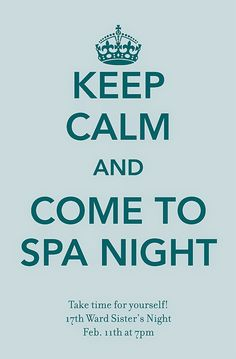 Last month we had a Spa Night for our monthly activity, based on this activity . I didn't take any pictures of the night, but wanted to shar...