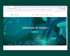 Homepage of viridiantherapeutics.com features image C049/1398 by Ella Maru Studio