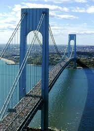 "The Verrazano Narrows Bridge (When I was 3 and my Dad worked there I used to call it Daddy's Bridge"" now my boys call it Grandpa Mike's bridge ) <3"